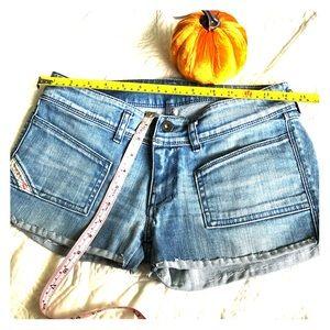 Vintage Diesel hushy short jeans